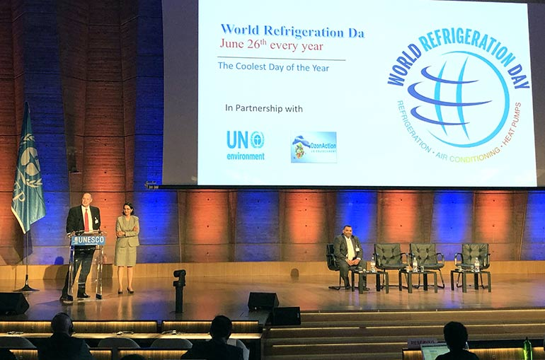 UNEP-OzonAction support for World Refrigeration Day