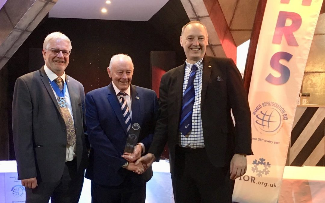 John Emm wins Hampshire Refrigeration Society World Refrigeration Award