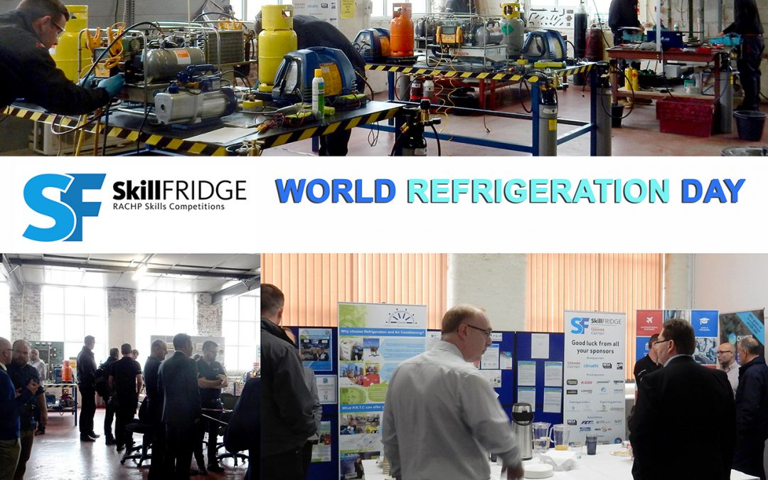 Practical Refrigeration Training Centre encourage next generation of skilled engineers for World Refrigeration Day event