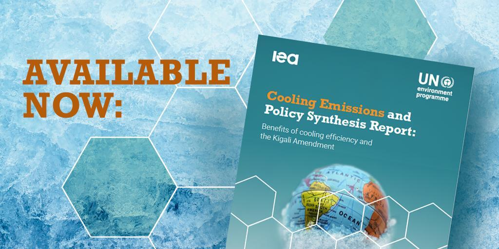 New report published: Cooling Emissions and Policy Synthesis Report