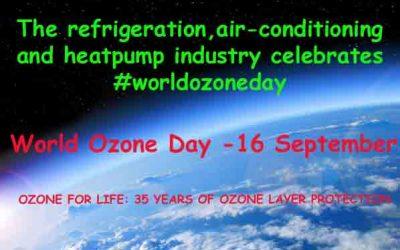 World Ozone Day – September 16th