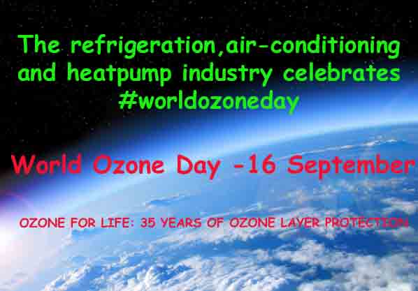 World Ozone Day – September 16th
