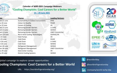 """Webinars Promote """"Cool Careers"""" for World Refrigeration Day"""